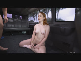 BangBus Arietta Adams Redhead Paid to Fuck in the Bus NEW PORN