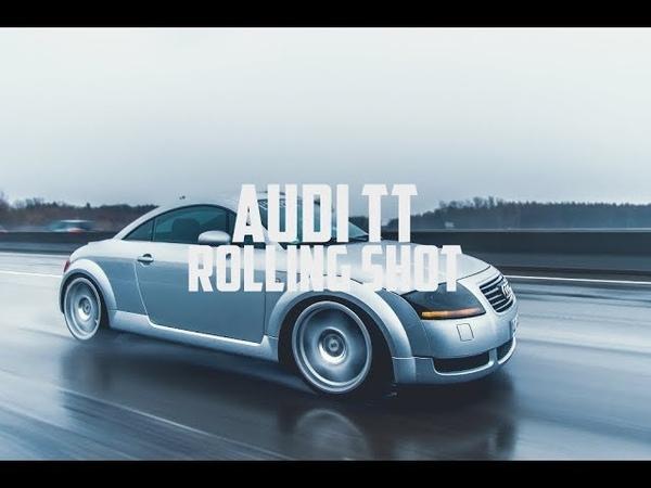 Audi TT 1.8T Rainy - ROLLING SHOT - 4K