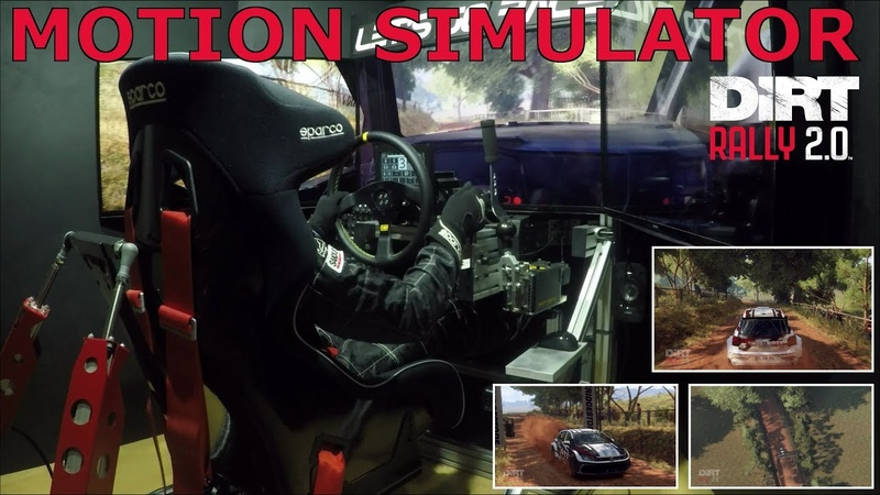 DiRT Rally 2.0 [Motion Simulator] Australia @ VW Polo GTI R5 [OSW Triple Screen]