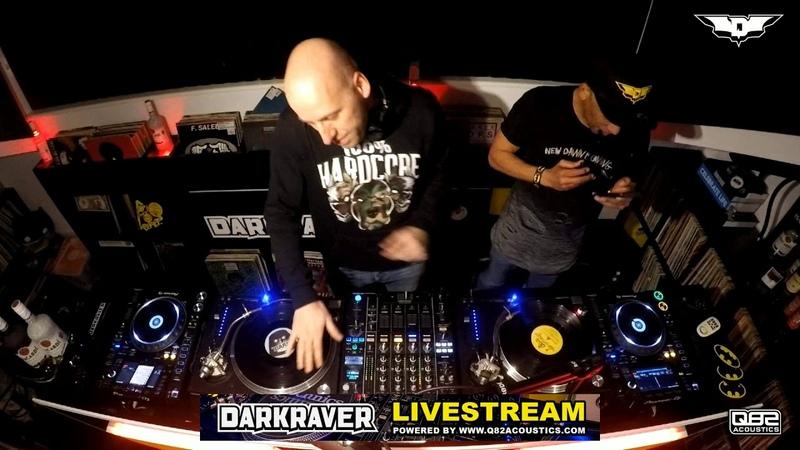 Darkraver VS Dj Vince in the Batcave 10 01 2019