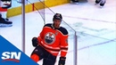 Connor McDavid Receives Alley-Oop From Kris Russell, Beats Carter Hart