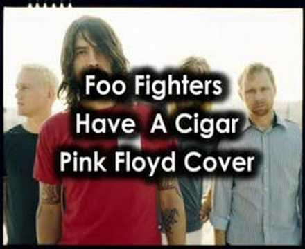 Foo Fighters Have A Cigar