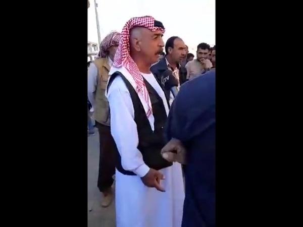Шангал в данный момент как все вы можете видеть езиды против оккупации иракским курдистаном Люди на видео кричат смерть Махме Халила смерть врагам Но завтра курдские СМИ связанные с ДПК будут писать что езиды хотят в курдистан