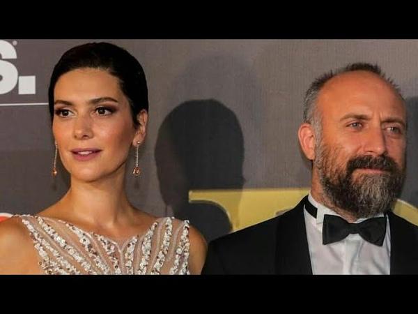 Bergüzar Korel ve Halit Ergenç Beyrut Uluslararası Ödül Törenine Katıldı