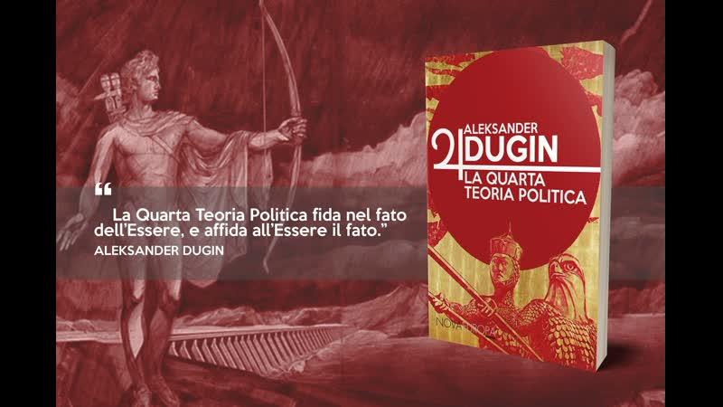 La Quarta Teoria politica - Intervista ad Andrea Virga