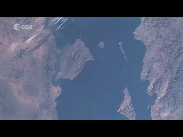 Если смотреть на Луну с орбиты то Земля будет Плоской Видео НАСА без ретуши