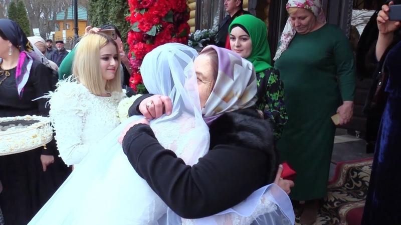 Чеченская Свадьба Абубакар Сиддикъ и Залина Автуры Гудермес 3 02 2019 Студия Шархан