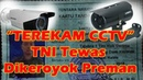 Rekaman Kamera CCTV pengeroyokan anggota TNI oleh preman hingga tewas