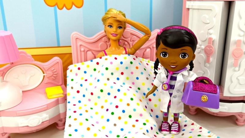 Мультик Барби и Кен Доктор Плюшева для Барби Игры для девочек