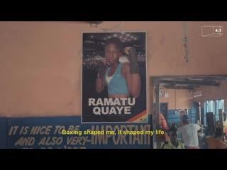 Ramatu go box ghana's female boxers