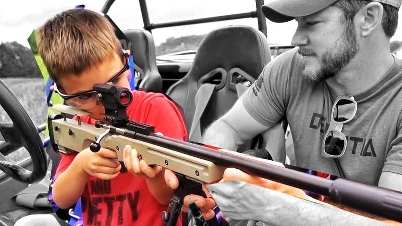 Подарил оружие сыну в пять лет   Разрушительное ранчо   Перевод Zёбры
