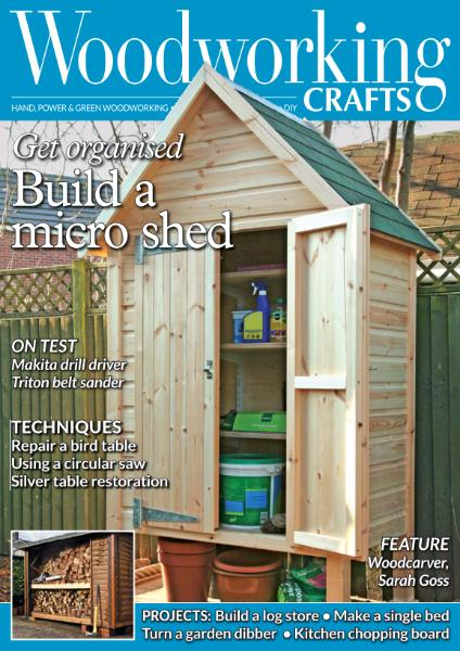 Woodworking Crafts – April 2019