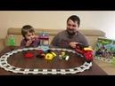 Lego Duplo review. Обзор невероятного набора конструктора Лего-Железная дорога с Умным паровозом.