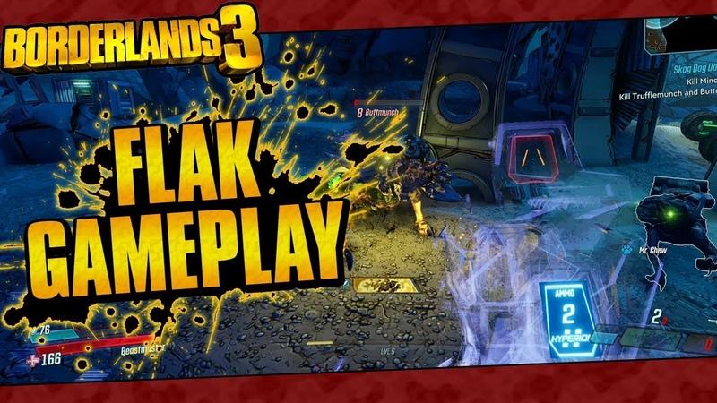 Borderlands 3 | FL4K The Beastmaster Aggressive Gameplay