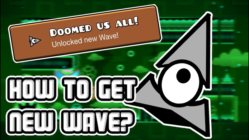 ILLUMINATI WAVE! Geometry Dash 2.0 How to unlock Doomed us All! achievement!