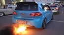 VW Golf R MK6 with 2-STEP ANTI-LAG!! - INSANE Flames Bangs @ Wörthersee 2019 *MUST SEE*