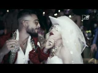 MADONNA AND MALUMA - Medellin (MTV NEO)