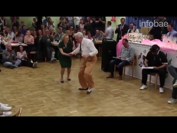 старики из германии танцуют буги-вуги
