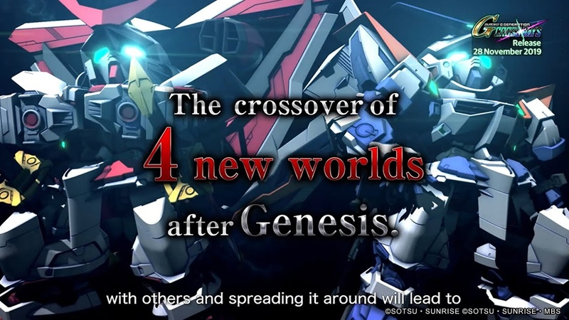 SD Gundam G Generation Cross Rays - 2nd Trailer (English)