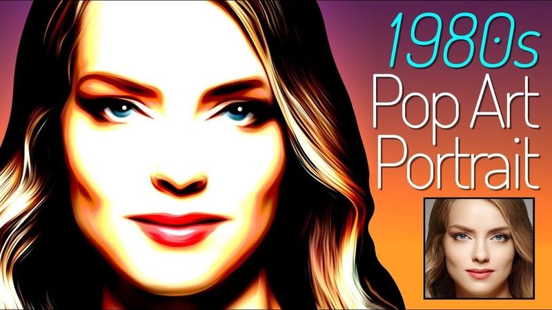 Photoshop: Create a Stunning, 1980s-style, Retro, Pop Art Portrait