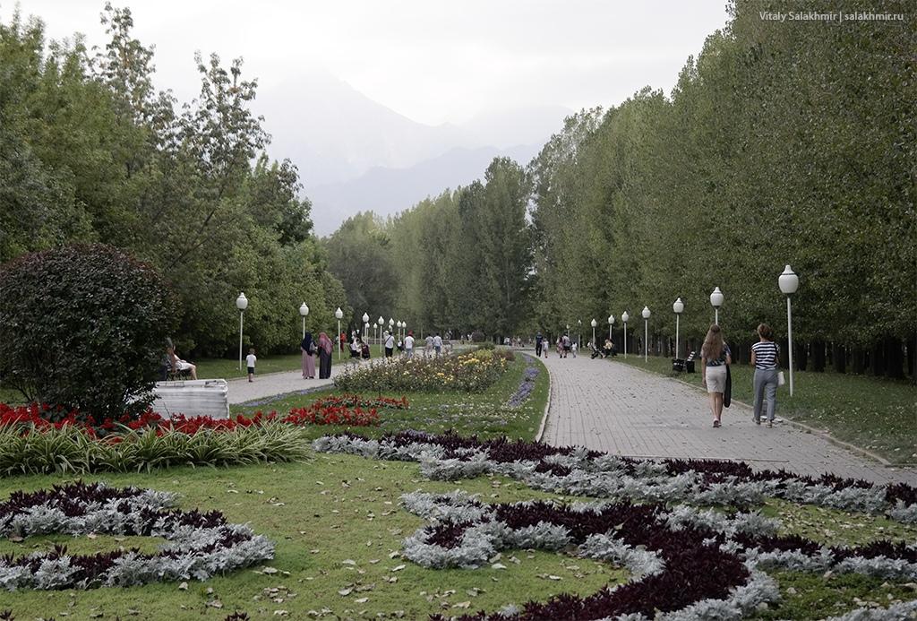 Парк Первого Президента летом – Алматы 2019