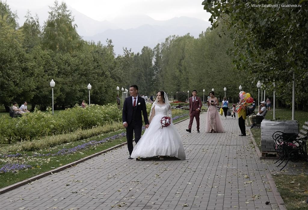 Свадебная фотография в Парке Первого Президента, Алматы 2019