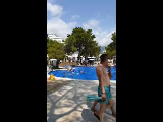 Tui fun&sun comfort beach resort5*, кемер, турция. температура воздуха +28, вода +27tui fun&sun comfort beach resort5*, финике