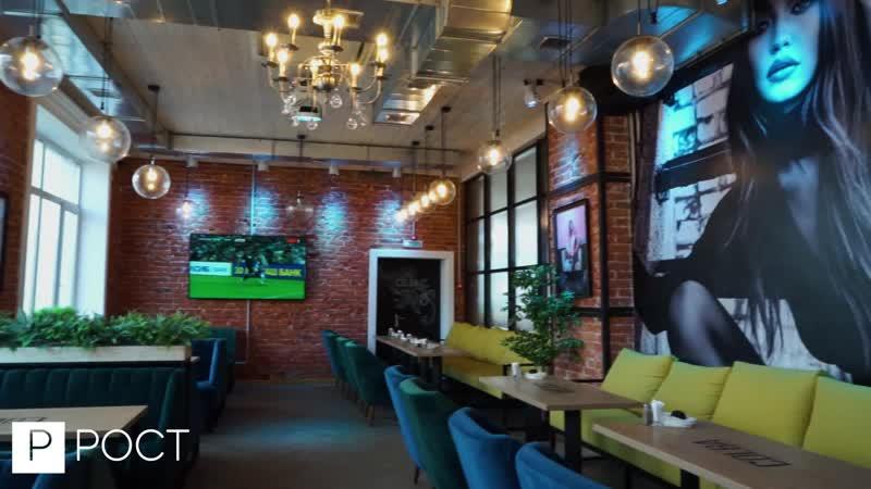 Ремонт COLBA Сoffee Lounge Bar (200 м2), по адресу г. Чебоксары, ул. К.Воробьевых, 5