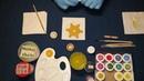 24 Новогодние игрушки своими руками 2 Снежинка золотая