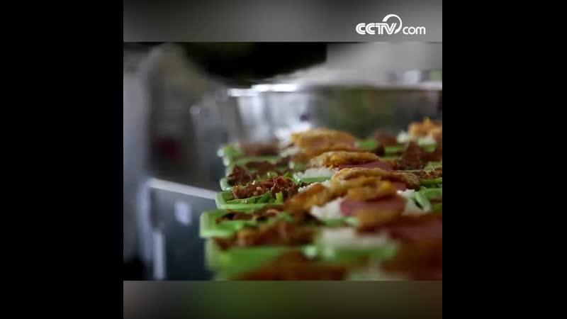 Кухня в поездах Весенней миграции Чуньюнь
