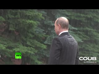 Putin and the chinese woman