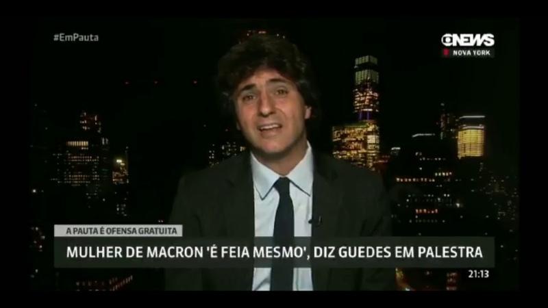 Guga Chacra da Globo News desabafa sobre declarações de Paulo Guedes assista