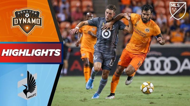 Houston Dynamo vs. Minnesota United FC | Controversial VAR Call Disallows Goal! | HIGHLIGHTS