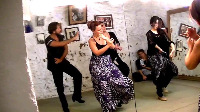 Tangos con Cristina Aguilera - Nivel avanzado (I)