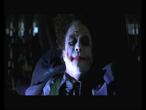 The Dark Knight When an Unstoppable Force meets an Immovable Object Full Scene (HQ)