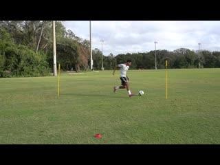 How to improve your dribbling _ 6 dribbling moves _ dribbling like de jong, neymя