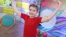 Зарядись вместе с Зайчиком Утренняя гимнастика для детей С добрым утром малыши