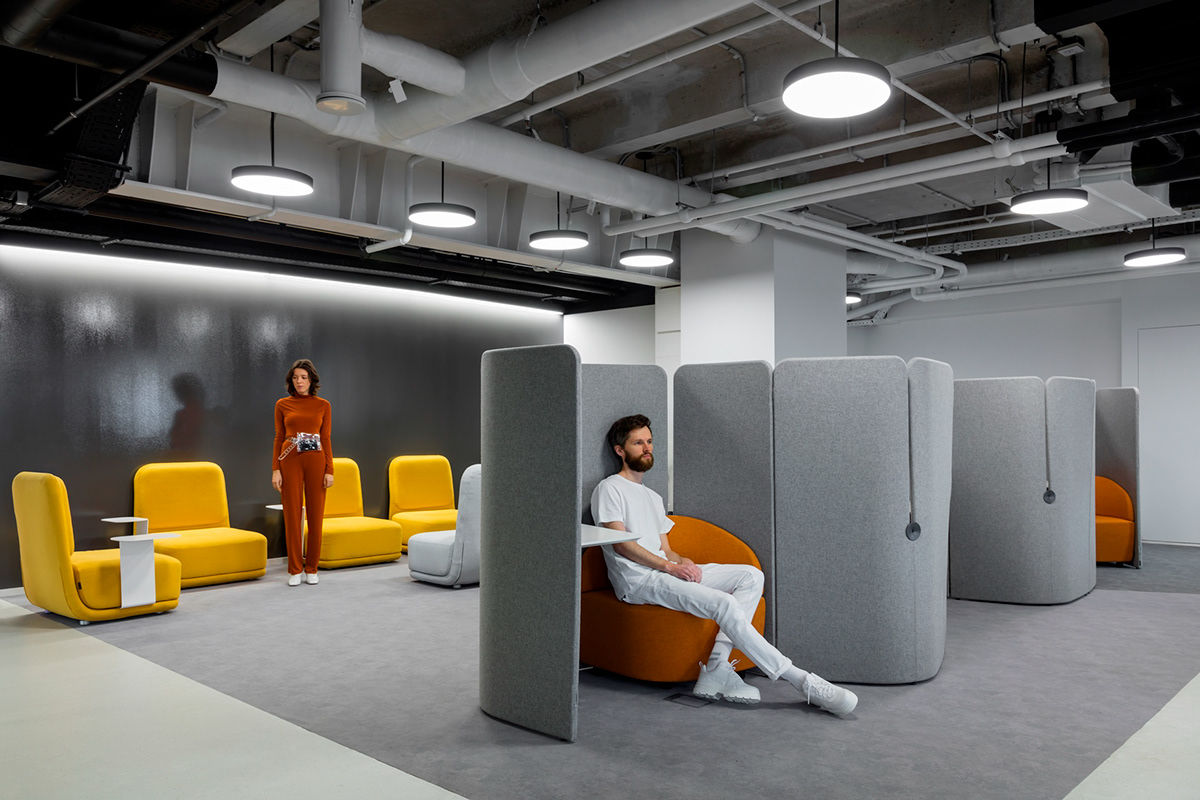 LAMODA Moscow Office by IND architects