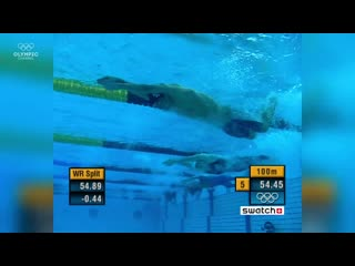 Michael phelps - all medal races at athens 2004 _ top moments