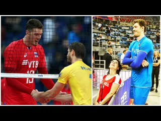 219cm tall volleyball giant dmitriy muserskiy (hd)