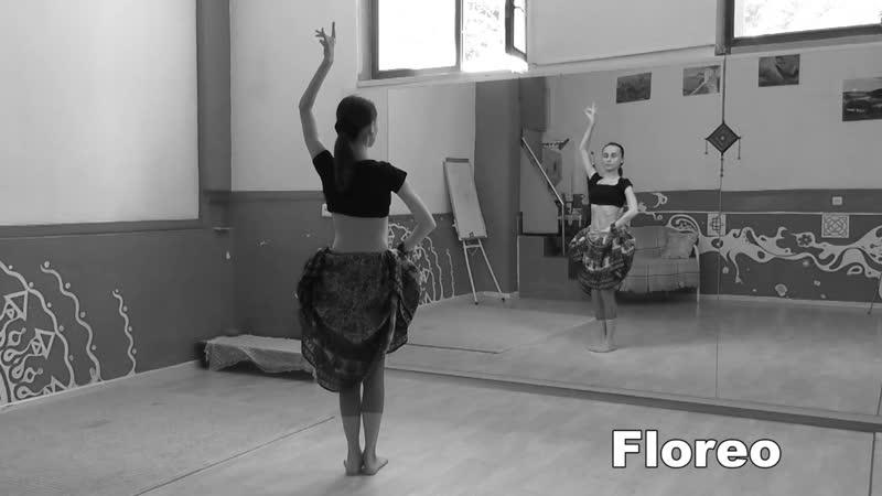 ATS® Slow Moves Floreo Pivot Turn Slow Pivot АТС словарь @ dance vocabulary