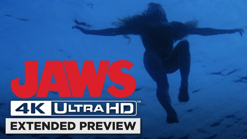 Jaws | Opening Shark Attack in 4K | Own it 6/2 on 4K UHD