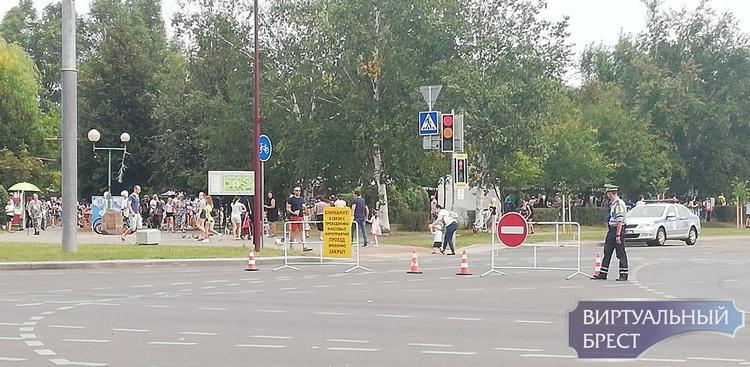 Весь день 30 августа будет перекрыто движение по улице Ленинградской в Бресте