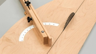 Making The Precision Miter Sled