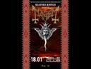 Mayhem Freezing Moon Live in Ekaterinburg 18 01 2020