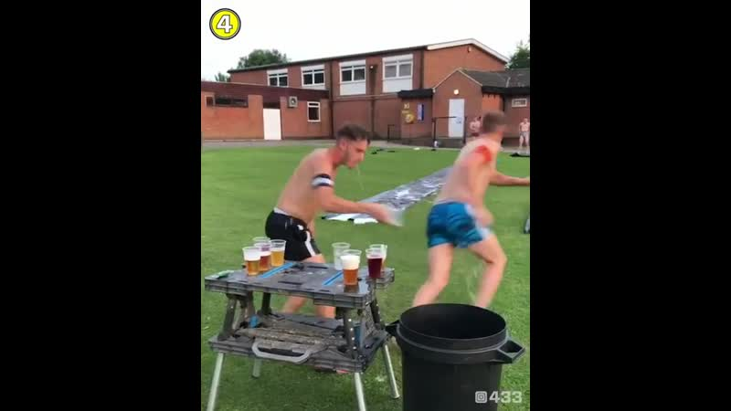 Finally a pre-season training drill we all like 😂🍻 ⠀ 🎥 Cosby United FC