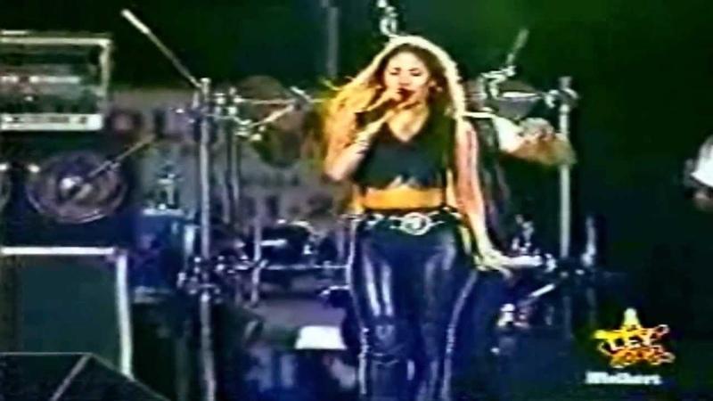 Selena Bidi Bidi Bom Bom Live in Midland Texas 1994 Restored and HD