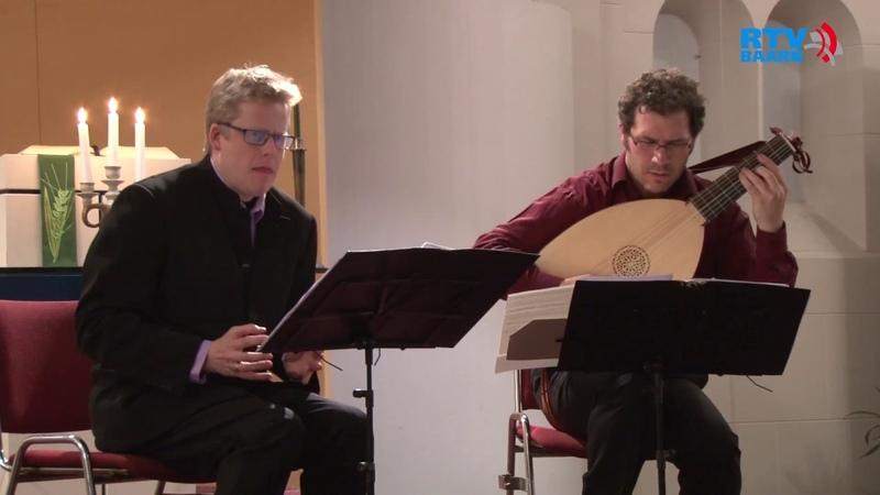 David Munderloh tenor Julian Behr lute John Dowland