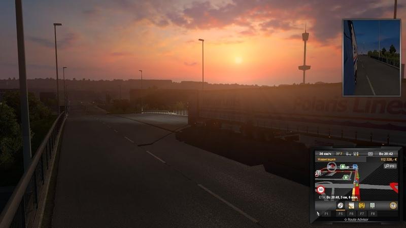 Играем в Euro Truck Simulator 2 8 Каменная вата из Осло в Гётеборг