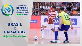 Brasil 2-0 Paraguay l Futsal Eliminatorias 2020